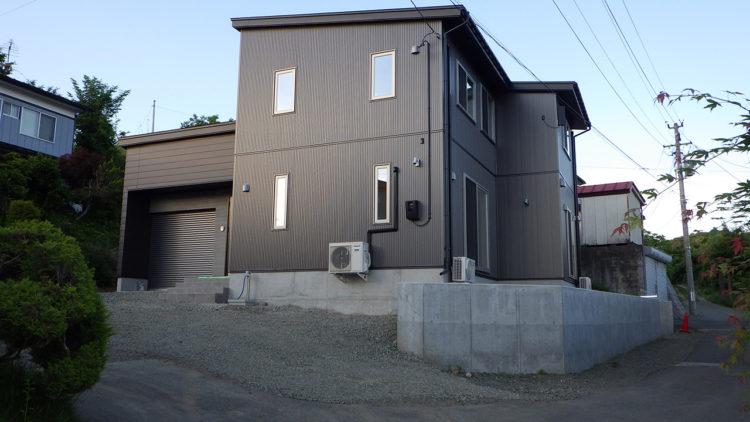 東緑が丘新築住宅外観-エコシステム