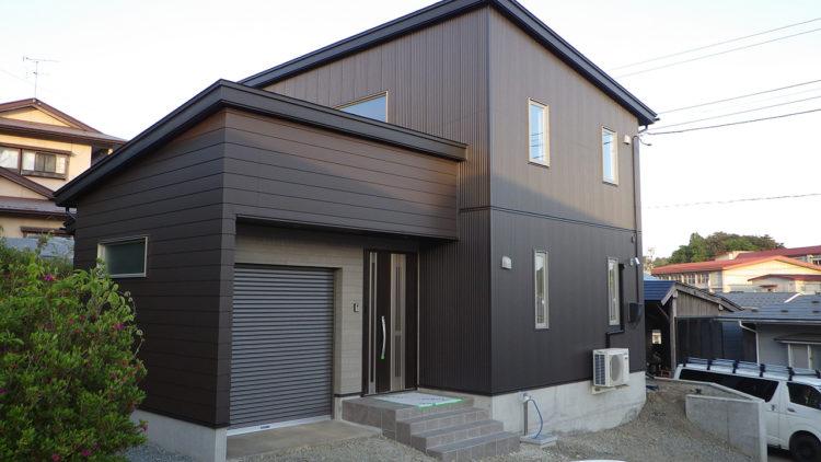 東緑が丘新築住宅外観02-エコシステム